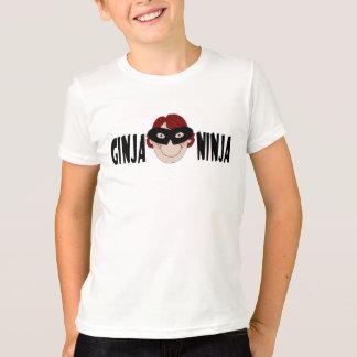 Camiseta Gengibre Ninja