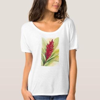 Camiseta Gengibre vermelho por Malorie Arisumi, Maui, Havaí
