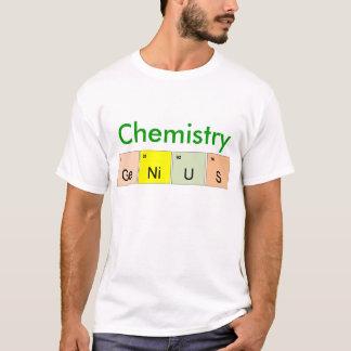 Camiseta Gênio da química