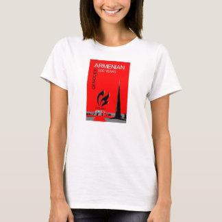 Camiseta Genocídio arménio - 100 anos