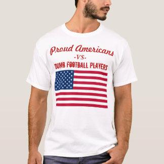 Camiseta Genuflexão orgulhosa dos covardes do suporte dos