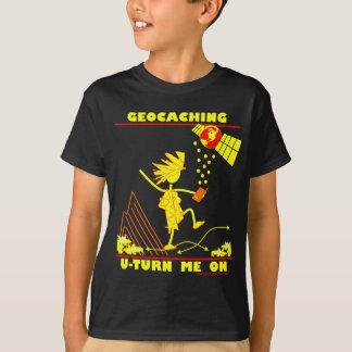 Camiseta Geocache U gira-me sobre