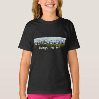 Camiseta Geocaching mantem-me apto
