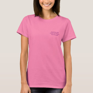 Camiseta Geochicks 2014