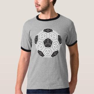 Camiseta geometria sagrado do futebol