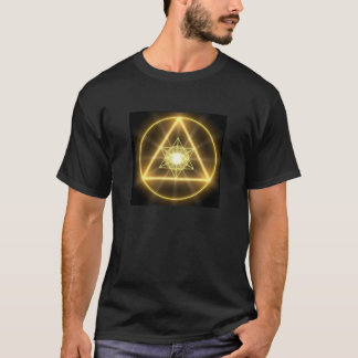 Camiseta Geometria sagrado - Metatron de incandescência