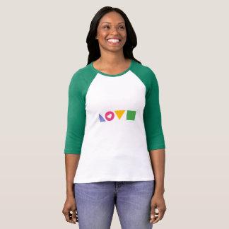 Camiseta Geometric Love