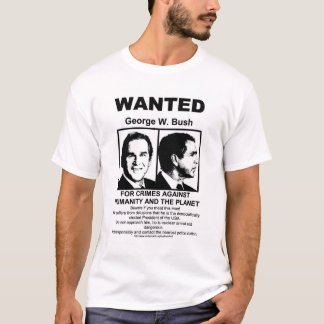 Camiseta George Bush quis