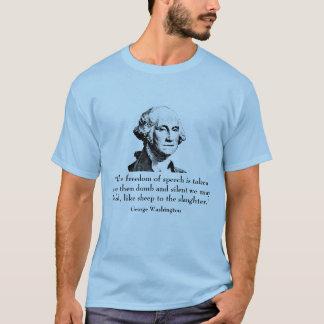Camiseta George Washington e citações