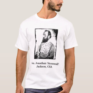 "Camiseta Gerador Jonathan ""Stonewall"" Jackson, CSA"