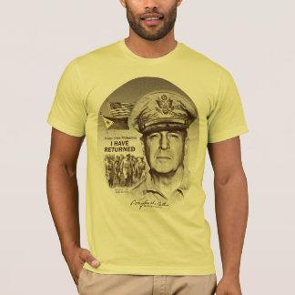 Camiseta Gerador MacArthur Eu retornou (o impressão do