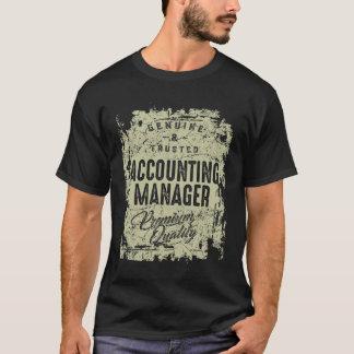 Camiseta Gerente de contabilidade