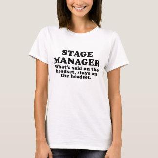 Camiseta Gerente de palco o que é dito nos auriculares