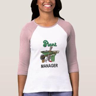 Camiseta Gerente de planta para o jardineiro