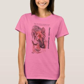 "Camiseta German shepherd ""com alma """
