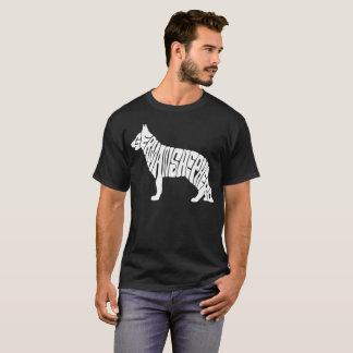 Camiseta German shepherd do proprietário
