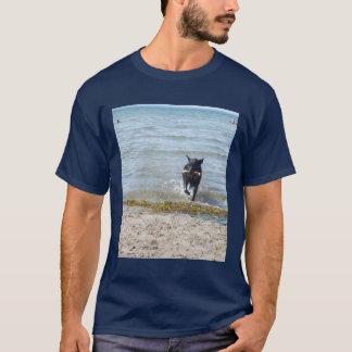 Camiseta German shepherd preto da laca