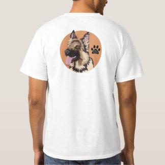 Camiseta German shepherd - t-shirt do PAI do ANIMAL DE