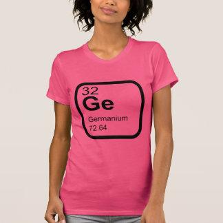Camiseta Germânio - design da ciência da mesa periódica
