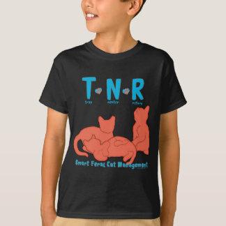 Camiseta Gestão feroz esperta do gato do retorno do neutro