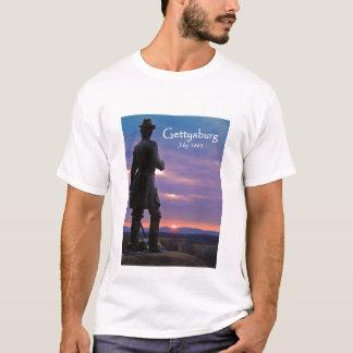 Camiseta Gettysburg - pouca parte superior redonda