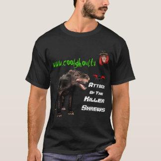 Camiseta Ghoul legal - ataque do t-shirt do Shrew do