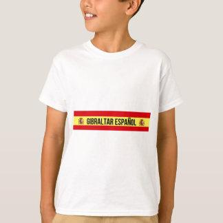 Camiseta Gibraltar Español - espanhol Gibraltar