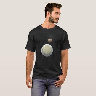 Camiseta Gigante e luas de gás
