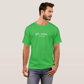 Camiseta Gim. Ajudas. Tudo