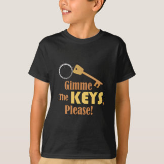 Camiseta Gimme as chaves
