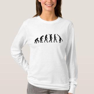 Camiseta Ginástica da evolução