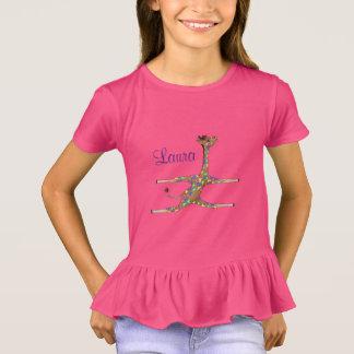 Camiseta Ginástica do arco-íris pelos Feliz Juul Empresa