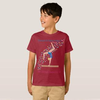 Camiseta Ginástica - exercicio de equilibrio