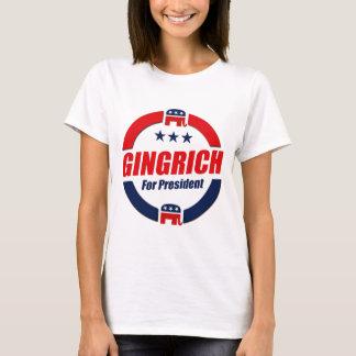 Camiseta GINGRICH PARA o PRESIDENTE (republicano)