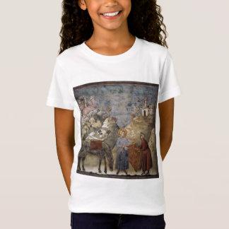 Camiseta Giotto: St Francis que dá seu envoltório a um