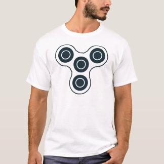 Camiseta Girador simples da inquietação