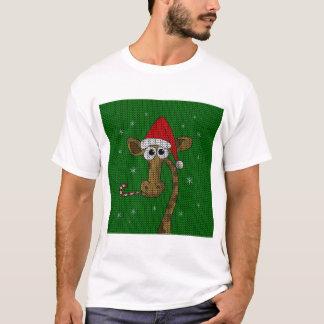 Camiseta Girafa do Natal