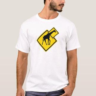 Camiseta Girafa do perigo