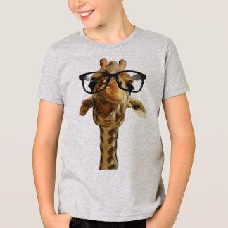 Camiseta giraff na ideia do presente do design das