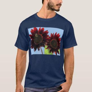 Camiseta Girassóis da rainha de veludo