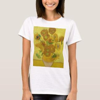 Camiseta Girassóis de Vincent van Gogh - arte clássica