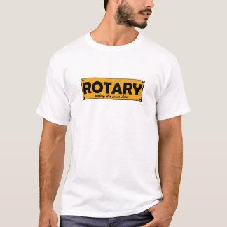 Camiseta Giratório, nada vem mais placas próximas