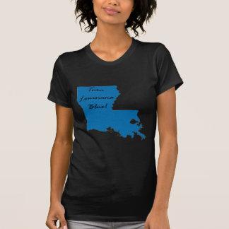Camiseta Gire Louisiana azul! Orgulho Democrática!