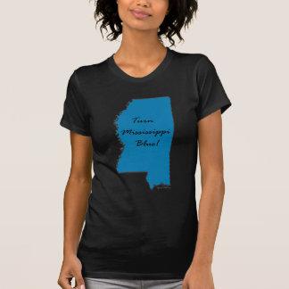Camiseta Gire Mississippi azul! Orgulho Democrática!