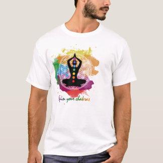 Camiseta gire seus chakras