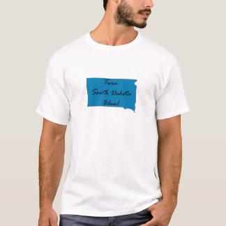 Camiseta Gire South Dakota azul! Orgulho Democrática!