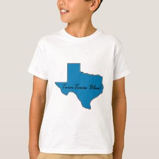 Camiseta Gire Texas azul! Orgulho Democrática