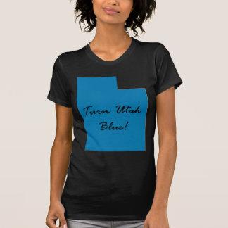 Camiseta Gire Utá azul! Orgulho Democrática!