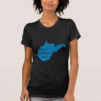 Camiseta Gire West Virginia azul! Orgulho Democrática
