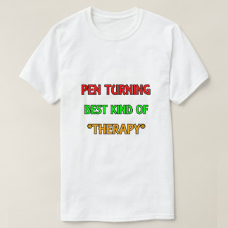 Camiseta Giro da caneta - melhor tipo do t-shirt da terapia